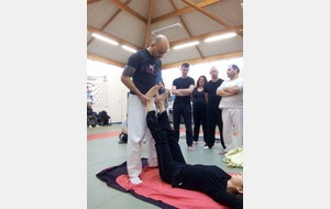 Stage Arnis avec Lionel Froidure
